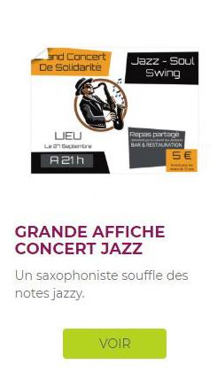 affiche xxl concert jazz