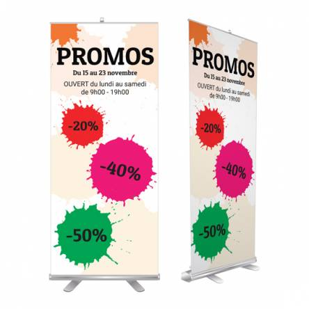 Roll up pour promos