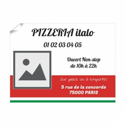 Affiche pour Pizzeria