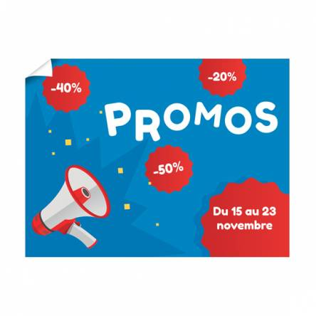 Affiche Promos Magasin