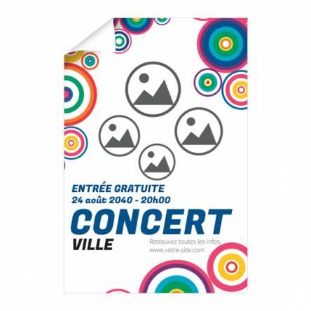 Affiche Concert musical