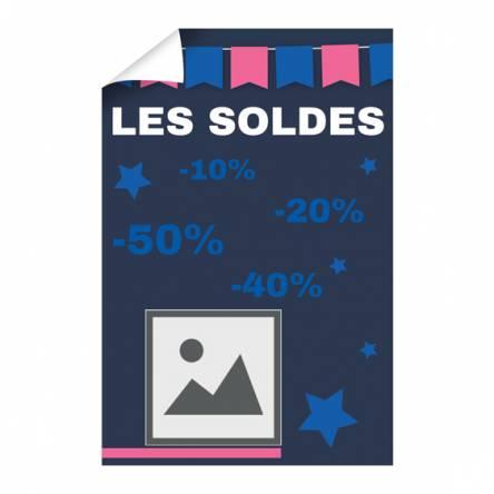 Affiche pour Soldes