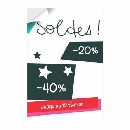 Sticker pour Soldes