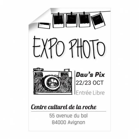 Affiche Exposition Photo