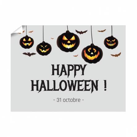 Affiche Halloween horizontale