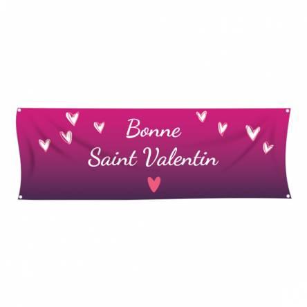 Banderole simple Saint Valentin