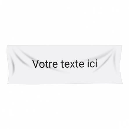 Banderole texte