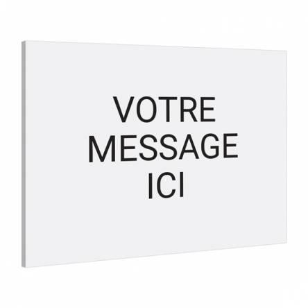 Pancarte texte