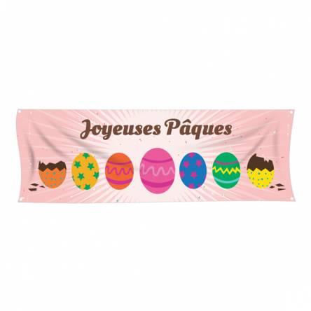 Banderole Pâques