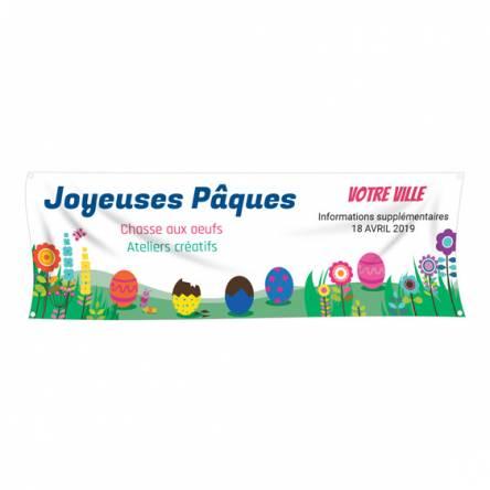 Banderole pour Pâques