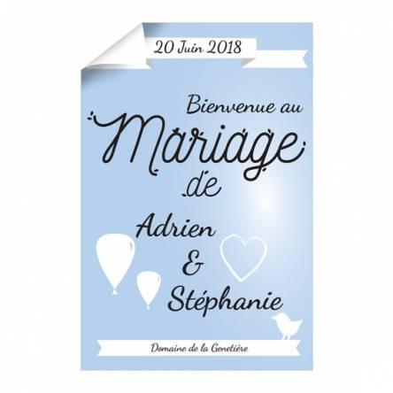 Affiche Mariage