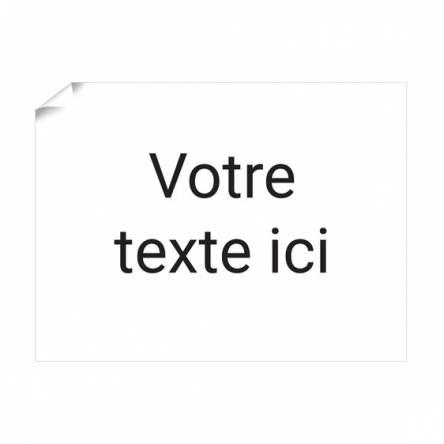 Affiche Texte