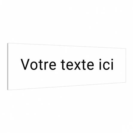 Panneau texte