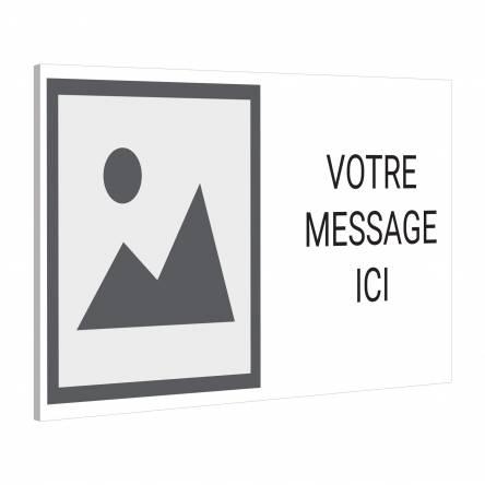 Pancarte Logo Texte