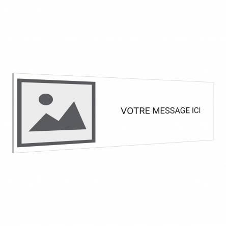 Panneau Logo Texte