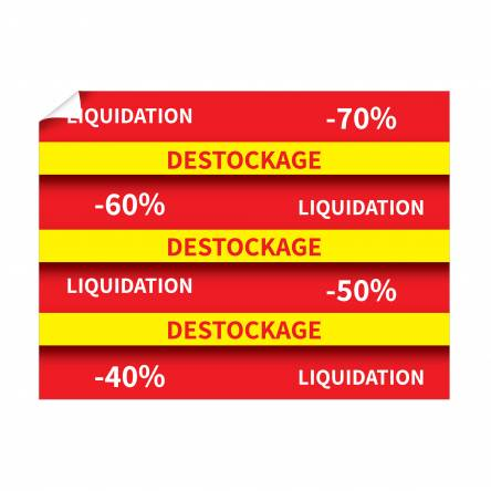 Affiche pour Destockage