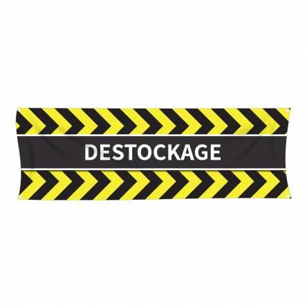 Banderole de Déstockage