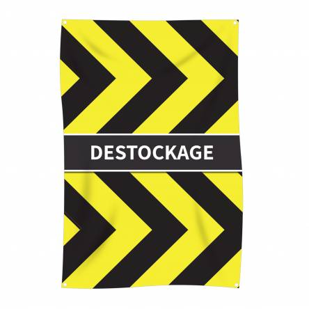 Bâche verticale Destockage