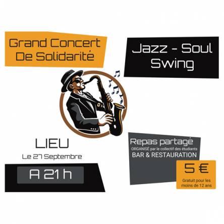 bâche concert jazz & soul
