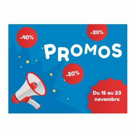 affiche promos soldes