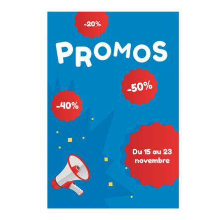 sticker pour promotions
