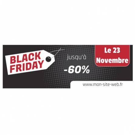banderole black friday