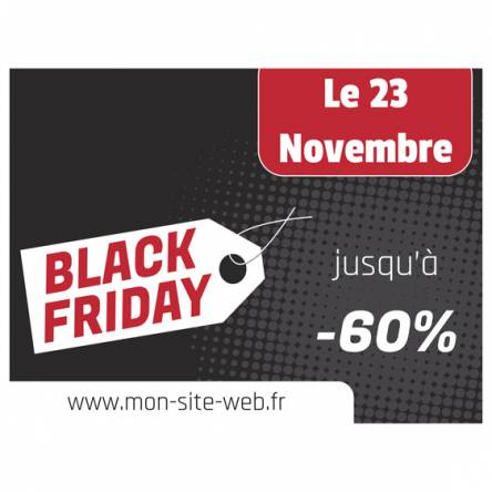 autocollants black friday