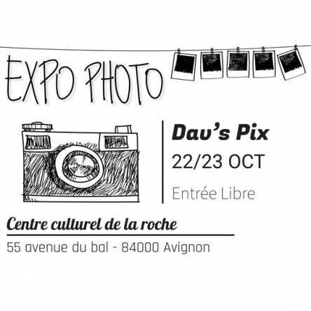 adhésif expo photo