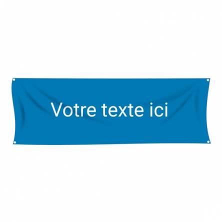 Banderole texte à personnaliser