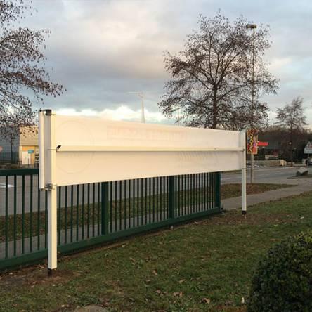 Porte-banderole Roll it