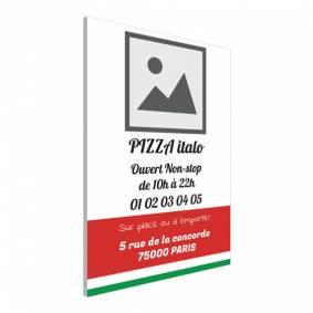 Pancarte pour pizzeria