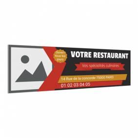 Panneau pour bar restaurant