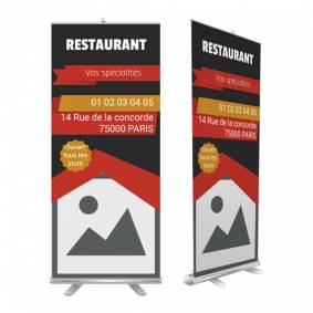 Roll up pour bar restaurant