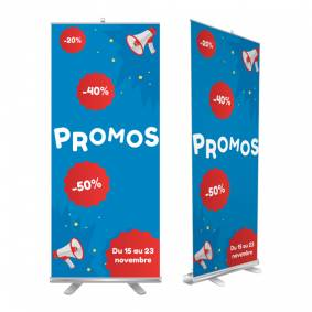 Roll up promo magasin