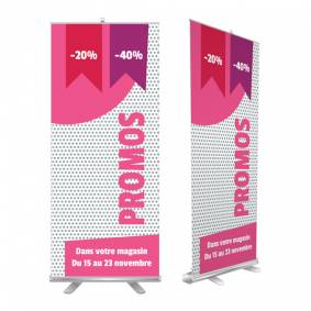 Roll up pour promotions