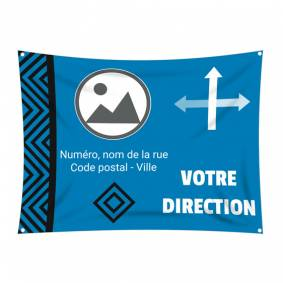 Bâche de direction