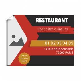 Affiche pour Restaurant