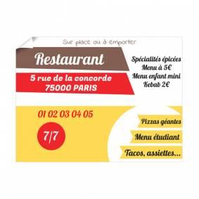 Affiche pour Bar Restaurant