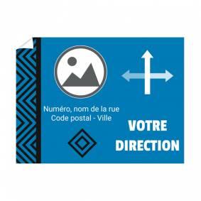 Affiche directionnelle