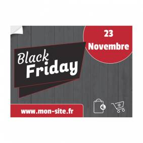 Adhésif Black Friday