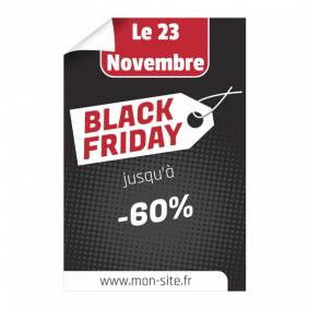 Affiche spéciale Black Friday