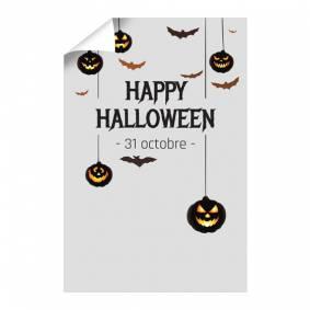 Affiche Halloween verticale