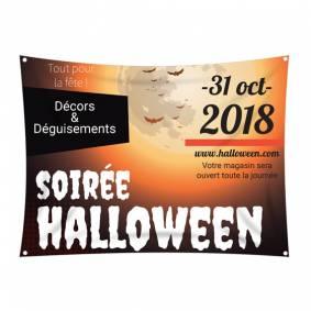Bâche pour Halloween