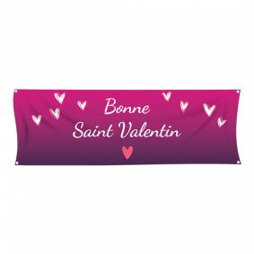 Banderole simple Saint Valentin