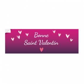Adhésif Saint Valentin
