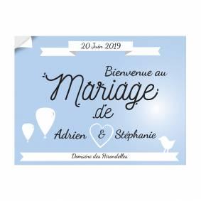 Adhésif Mariage