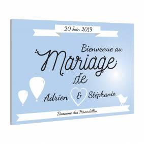 Pancarte spécial Mariage