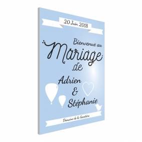 Panneau spécial Mariage