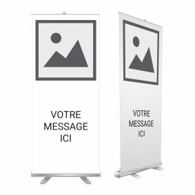 Roll Up Logo Texte