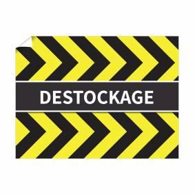 Affiche Destockage